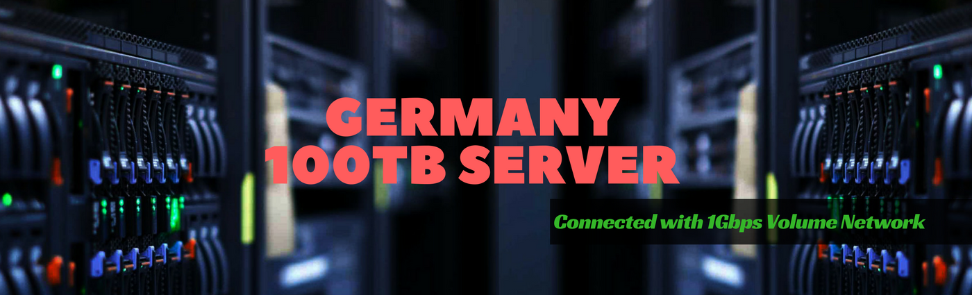 Germany Dedicated Servers with 100TB Bandwidth